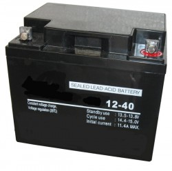 Аккумулятор, 40.0Ач, 12V